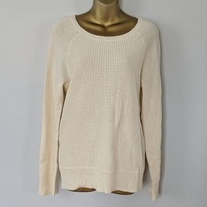 J.crew crew neck knitted sweater size